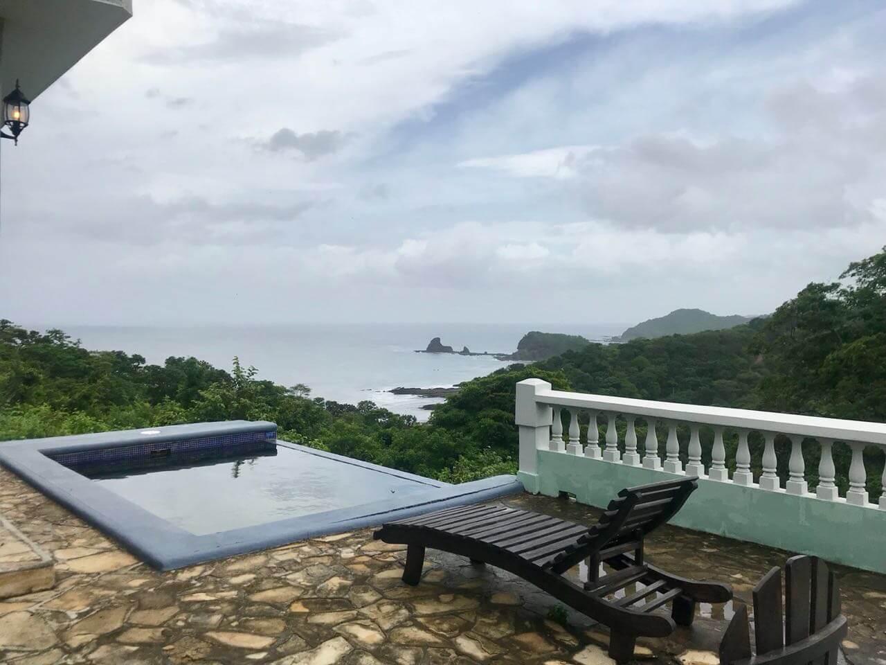 Three Bedroom Home Above Playa Maderas