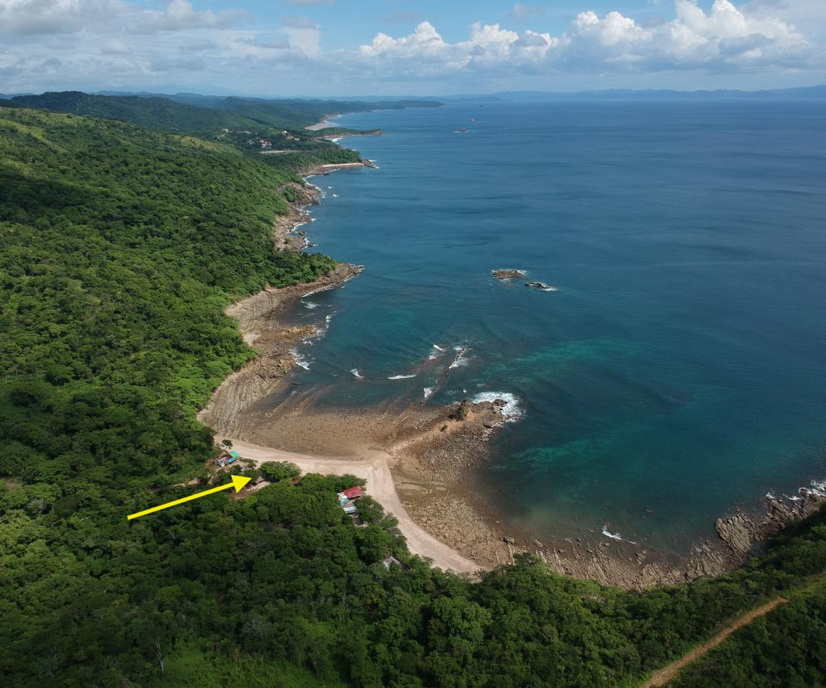 Oceanfront Lot on Private Cove 9 Minutes South of San Juan