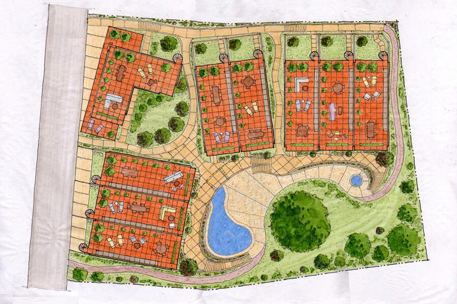 6_talanguera_townhomes_siteplan_rendered