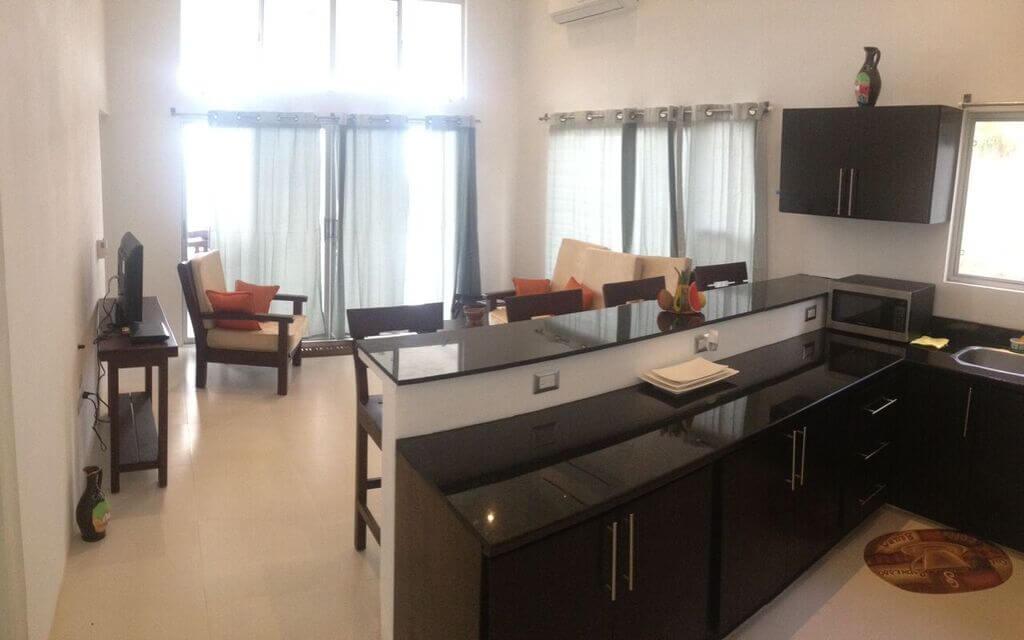 Cala-Bahia-Azul-Kitchen-Living-Room