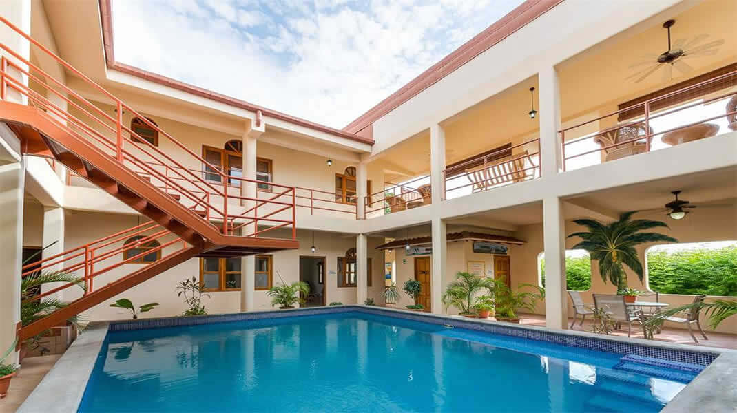 Hotel / Apartment Building in the Center of San Juan Del Sur, Reduced to $799,000