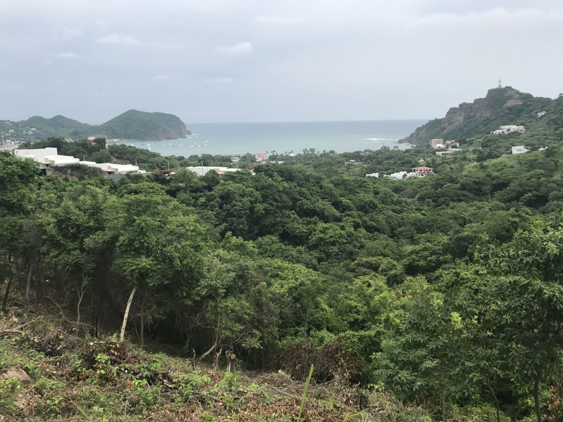 Great Oceanview lot close to Town